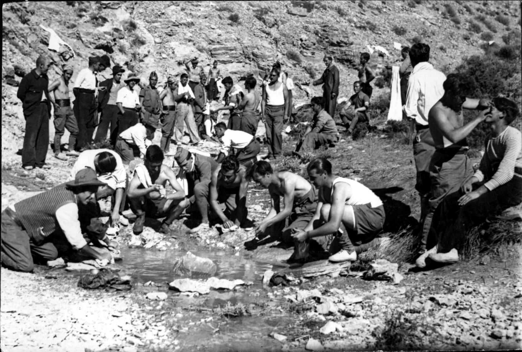 Resultado de imagen de La Desbandá de Malaga a Almer