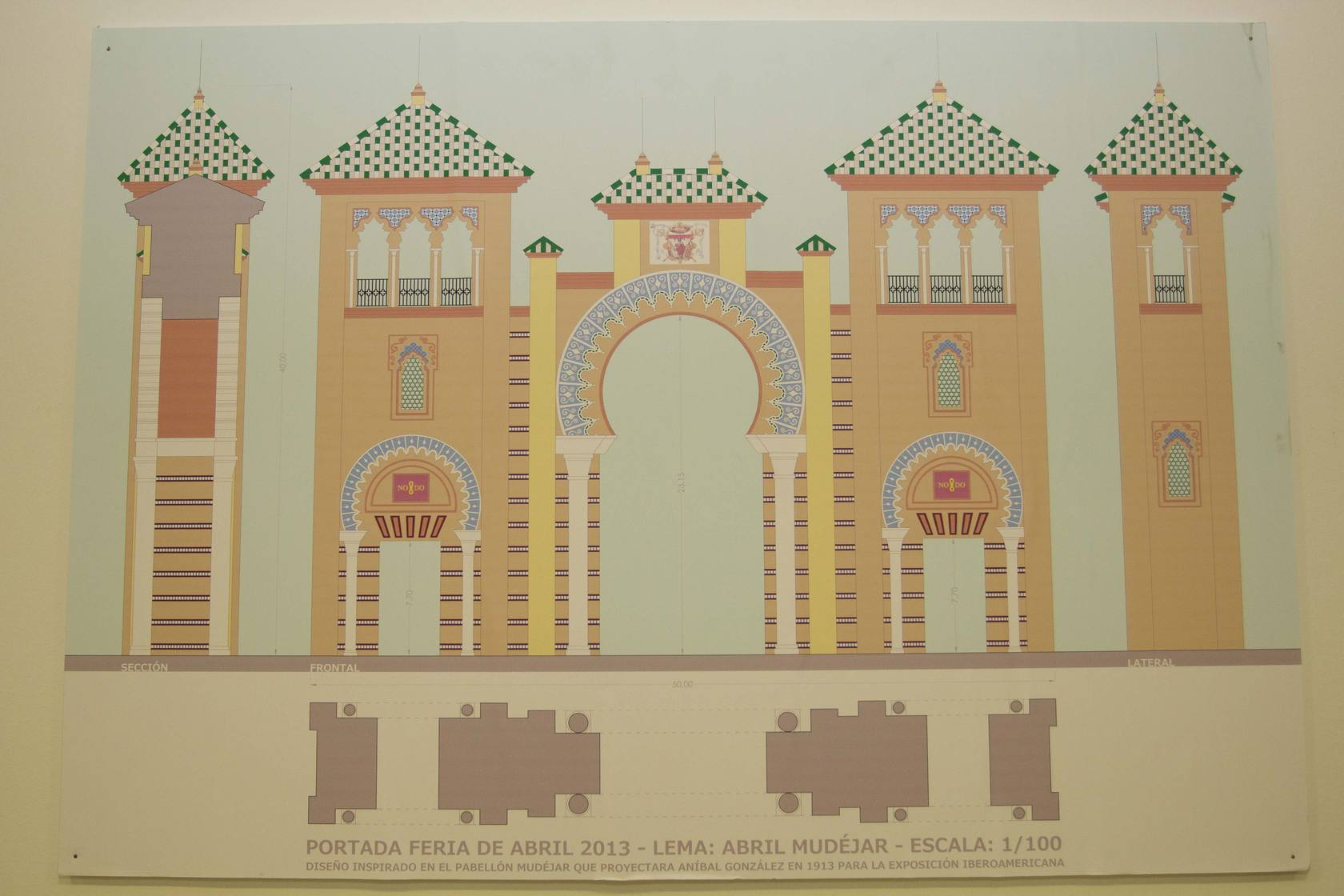 Las otras portadas de la Feria de Sevilla - Local - sevilla.abc.es