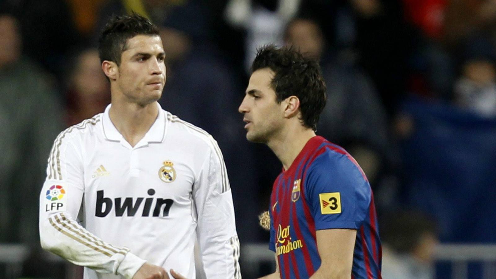 La desesperación de Cristiano Ronaldo en el Clásico Real Madrid ...