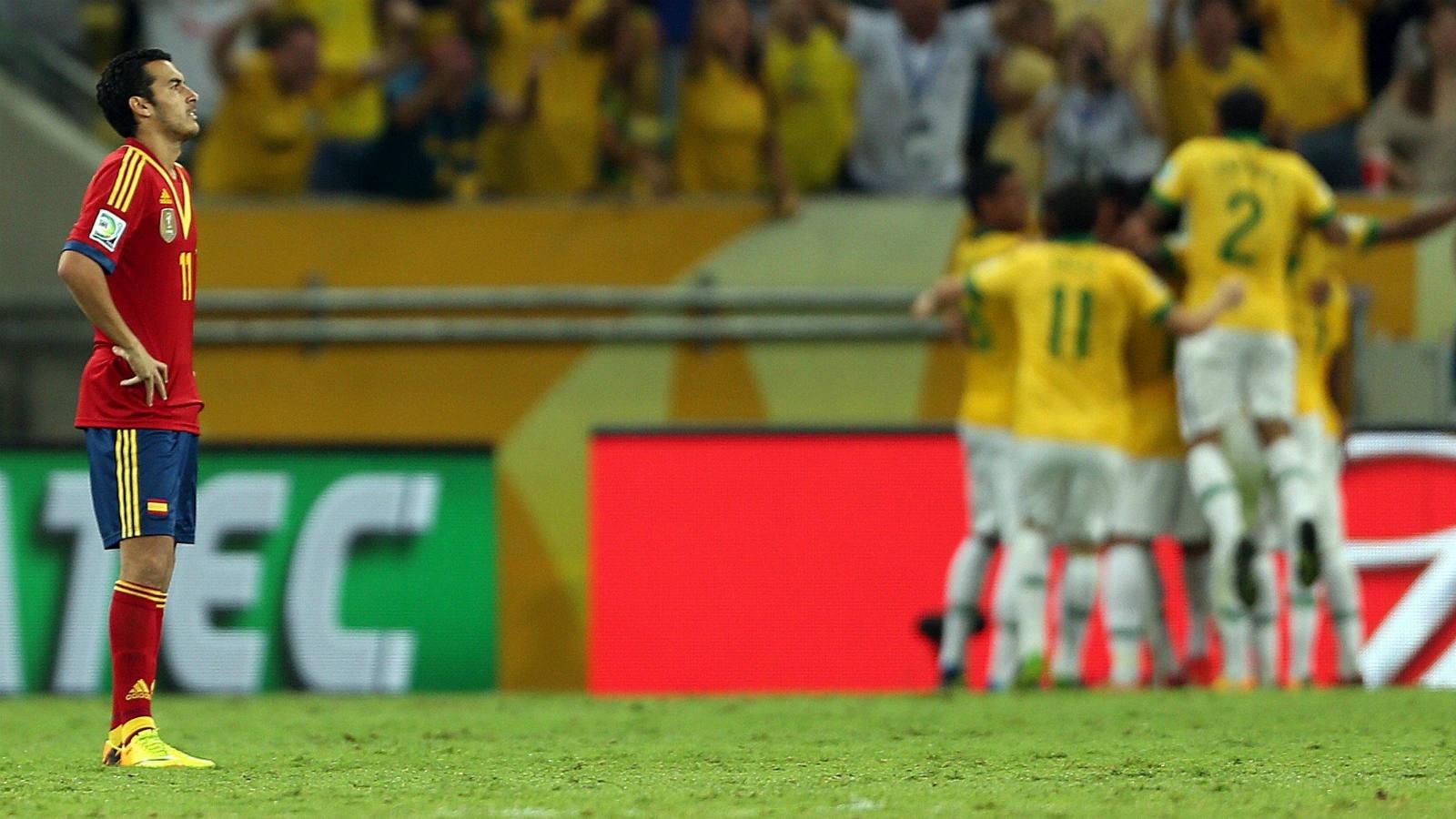 Las imágenes de la final entre Brasil y España