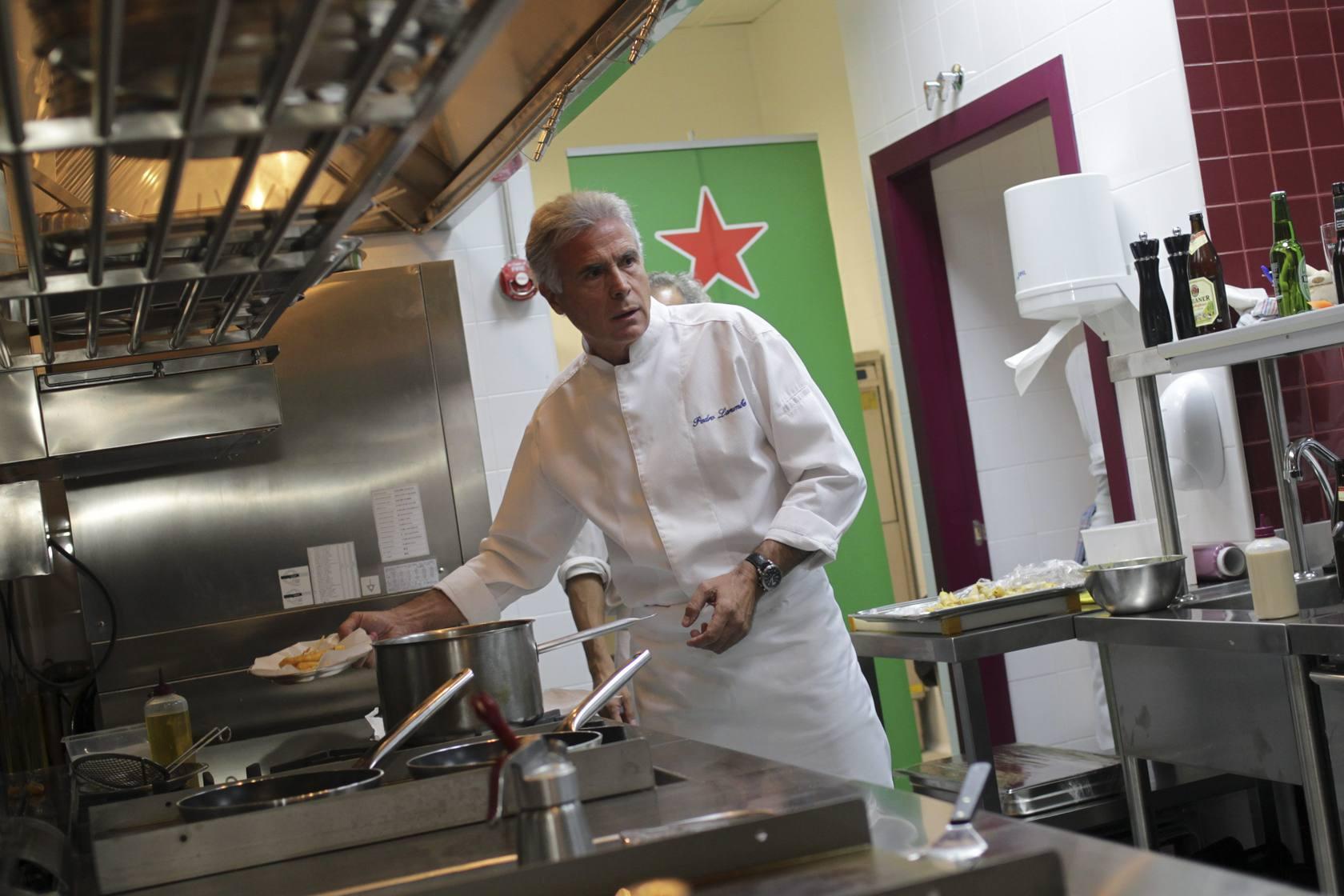 La «cocina-escuela» de Pedro Larumbe - Local ABC Madrid - ABC.es