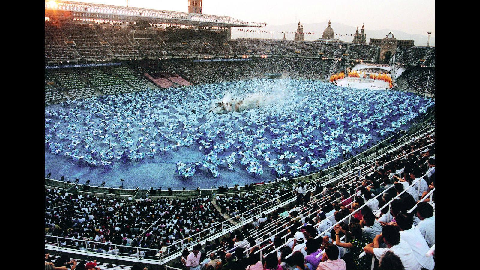 Barcelona 92 La Ceremonia Que Deslumbro Al Mundo Juegos Olimpicos